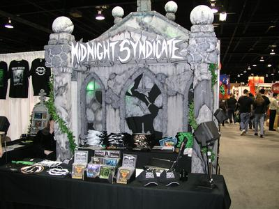 2004 Transworld Halloween Section - Midnight Syndicate Booth - Picture