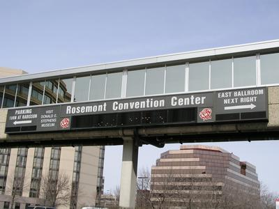 2004 Transworld Haunter Section - Convention Center Sign - Picture