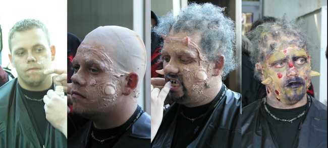 2004 Midwest Haunter\'s Convention - Midwest Haunter\'s Convention - Monster Make-Up Wars - Picture