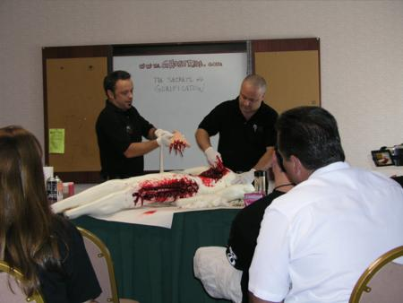 2005 Midwest Haunters Convention - Ghostride Productions Seminar - Secrets of Gorification - Picture