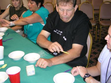 2005 Midwest Haunters Convention - Jeff Glatzer Seminar - Working with Gelatin - Picture