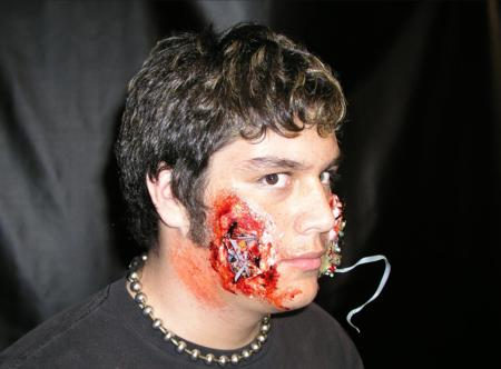 2005 ScreamFest Seminars - Hand Applied Make-up: Cyborg  - Picture