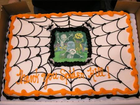 2005 Spider Hill Seminars - Cake Close-up - Picture