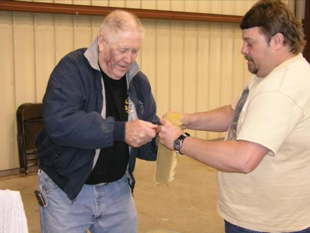 2005 Spider Hill Seminars - Making Drywall Compound Props - Picture