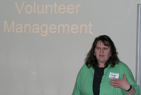 2005 Spider Hill Seminars - Tammy Pritchett - Volunteer Management - Picture