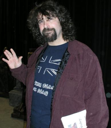Celebrities at the 2005 Transworld Show - Mick Foley - WWE - Picture