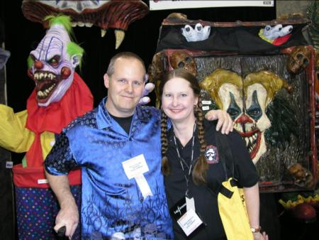 2005 Transworld Haunter Gallery - Kelly Collins and Neena Robinson - FeatureCreatures.com - Picture