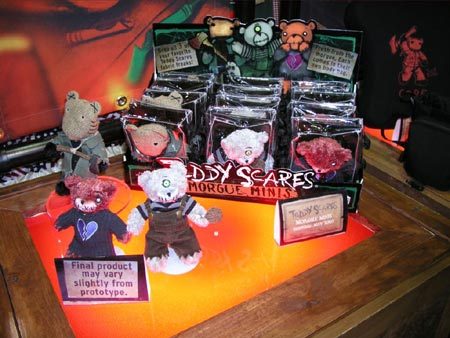 2005 Transworld  Products - Teddy Scares Morgue Minis - Picture