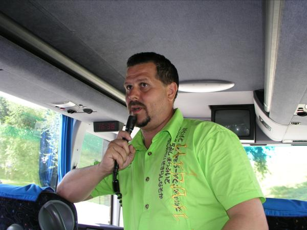 Bucharest, Romania - Our Tour Guide Radu - Picture