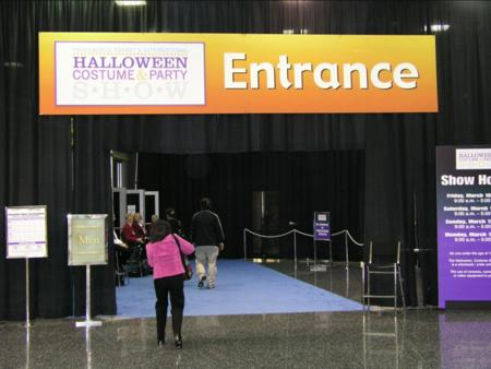Transworld Halloween Section - Halloween Show Entrance - Picture