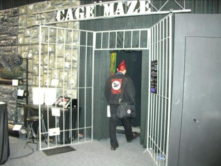 Transworld Haunter Section - Cage Maze - Picture