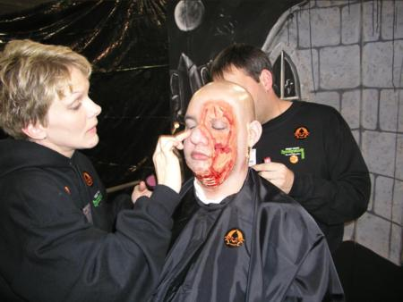 Transworld Haunters Pavilion - Make-up Competition - Picture