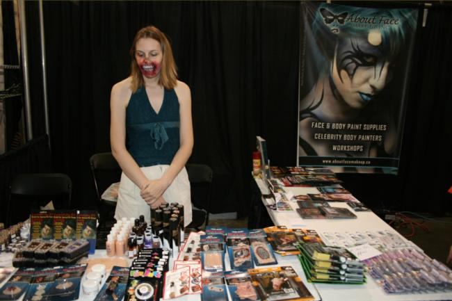 2008 Midwest Haunters Convention - About Face Make-up - Picture