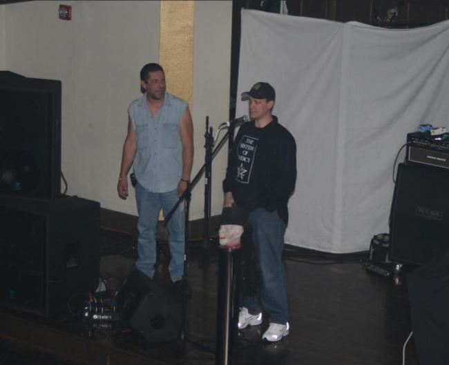 2008 Midwest Haunters Convention - Club Vampire - Ed Douglas and Rich Hanf - Picture