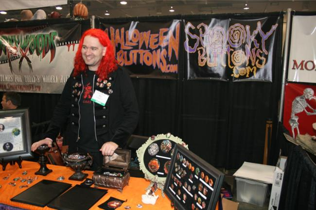 2008 Midwest Haunters Convention - HalloweenButtons.com - Picture