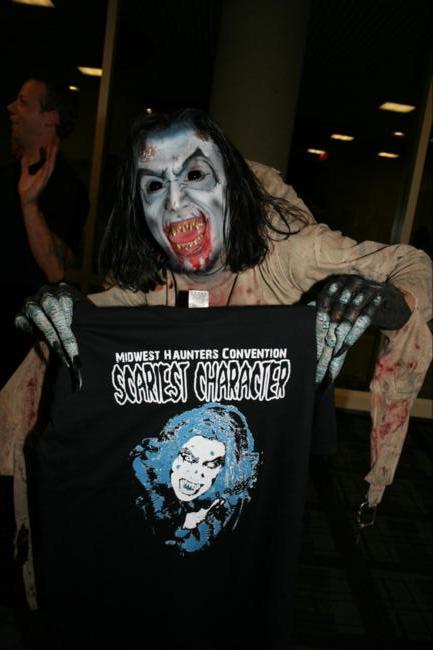 2008 Midwest Haunters Convention - Masquerade Ball - Winner of Scariest Character Contest - Picture