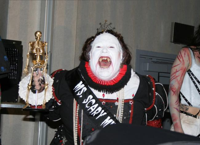2008 Midwest Haunters Convention - Masquerade Ball - Winner of Ms Midwest Scary Pageant - Picture