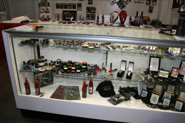 Transworld Show Floor - Bloody Mary Cosmetics - Picture