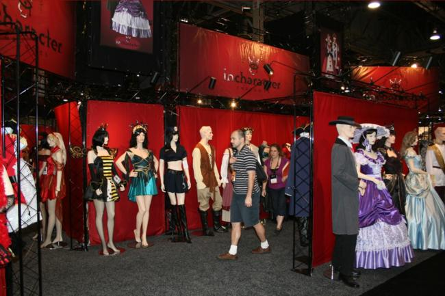 Transworld Show Floor - InCharacter Costumes - Picture