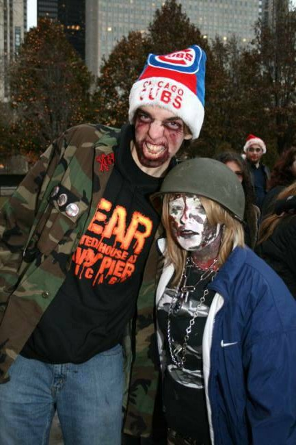 2008 Zombies on Ice - Zombies on Ice at Millennium Park in Chicago - Picture