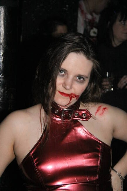 A Very Bloody Valentines Day - Zombie Pin-up Contest - Picture