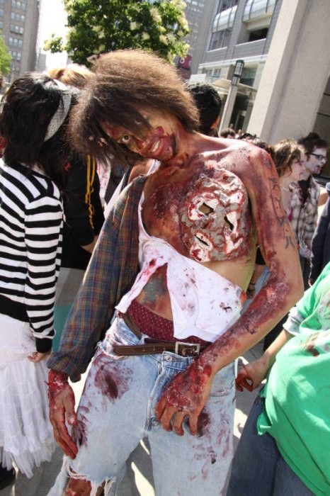 2009 Chicago Zombie March