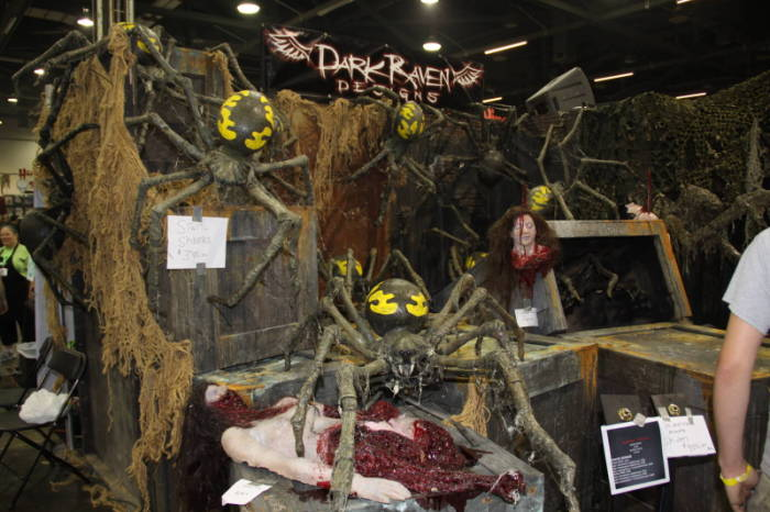 2010 MHC - The Show Floor  - Dark Raven Designs