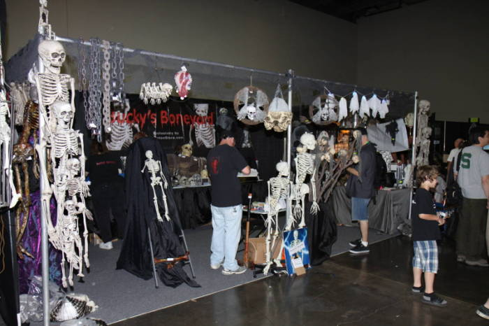 2011 MHC - The Show Floor  - Bucky's Boneyard