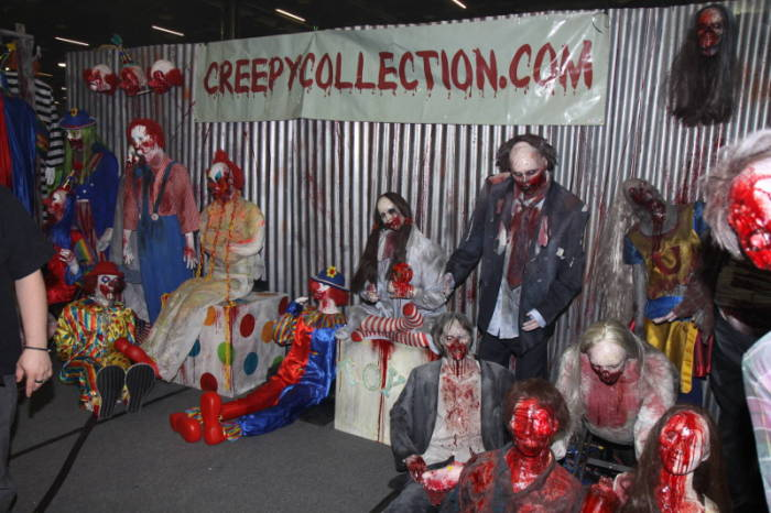 2011 MHC - The Show Floor  - Creepy Collection