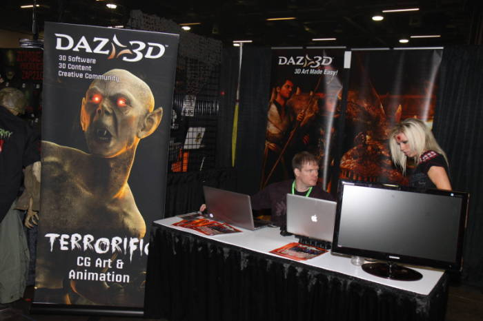 2011 MHC - The Show Floor  - Daz 3D