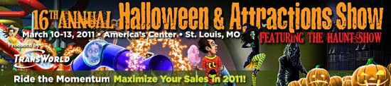 2011 Transworld Halloween & Attractions Haunt Show St Louis Mo