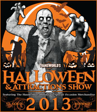Transworld 2013 Halloween and Attractions Show - Haunt Show - St. Louis MO Missouri