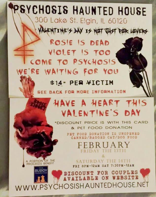 Hauntedillinois Com 2015 Valentine S Day Haunted Houses In Illinois