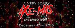 A Very Scary Axe-Mas at the Basement of the Dead Haunted House (Aurora, IL)