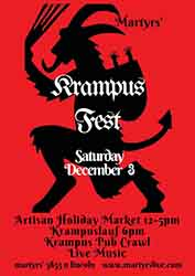 Martyrs' 4th Annual Krampus Fest (Chicago, IL)