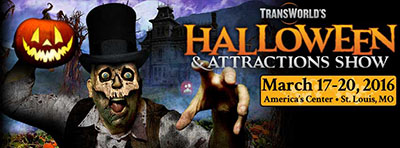 Transworld 2016 Halloween and Attractions Show - Haunt Show - St. Louis MO Missouri