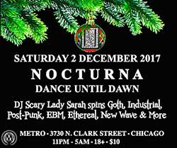 Noctura with DJ Scary Lady Sarah in Chicago, IL