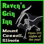 Raven's Grin Inn in Mount Carroll, IL.