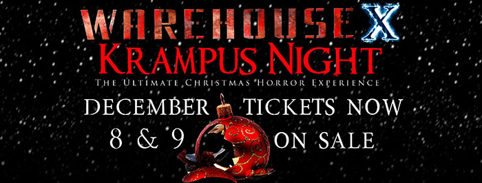Fables Fright Nights Presents Warehouse X: Krampus Night (East Dundee, IL)