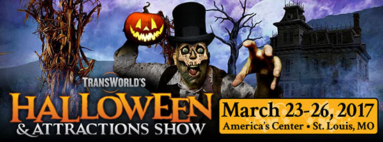 Transworld 2017 Halloween and Attractions Show - Haunt Show - St. Louis MO Missouri