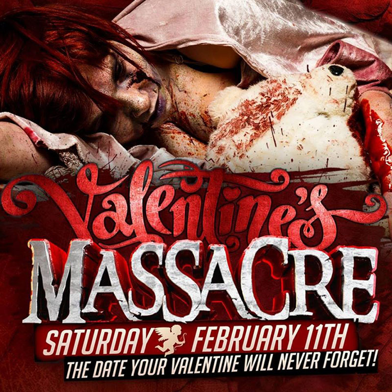 Valentine's Massacre at the Massacre Haunted House (Montgomery, IL)