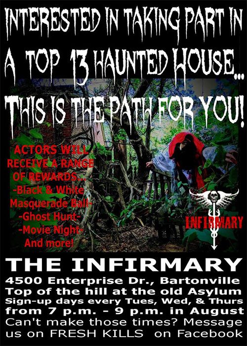 The Haunted Infirmary in Bartonville, IL