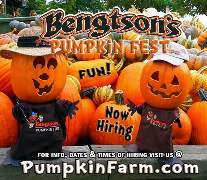 Bengtson's Pumpkin Farm in Homer Glen