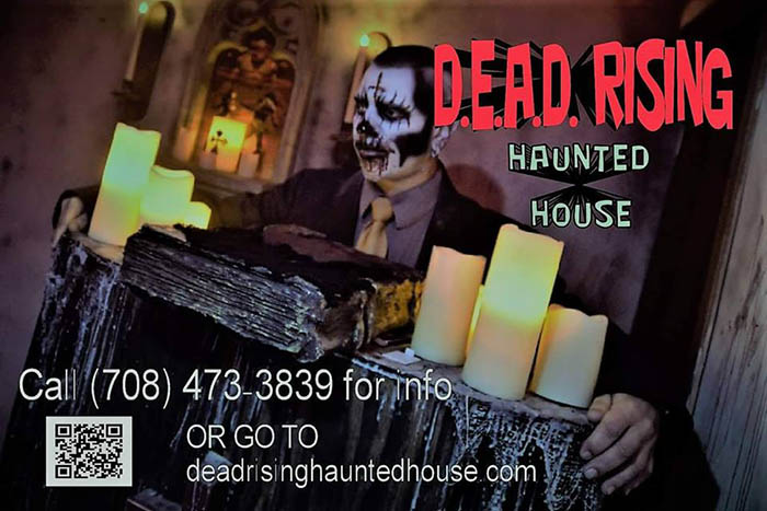 D.E.A.D. Rising Haunted House in Crestwood, IL
