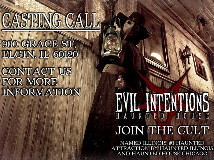 Evil Intentions Haunted House in Elgin, IL