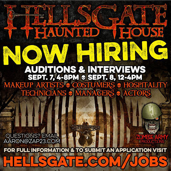 HellsGate Haunted House in Lockport, IL