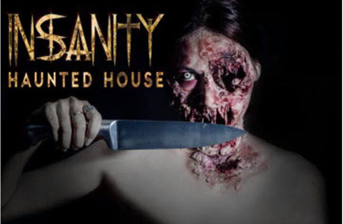 Insanity Haunted House in Peru, IL