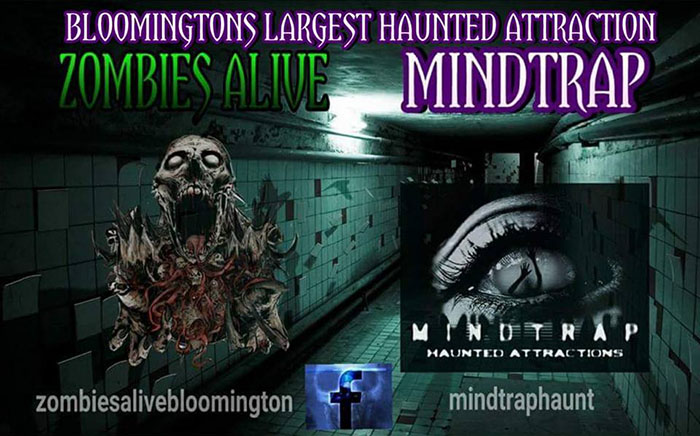 Mindtrap Haunted House in Bloomington, IL