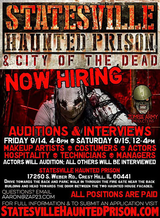 Statesville Haunted Prison in Crest Hill, IL