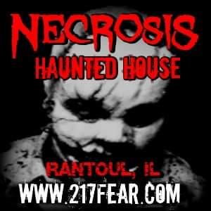 Necrosis Haunted House - Rantoul, Illinois
